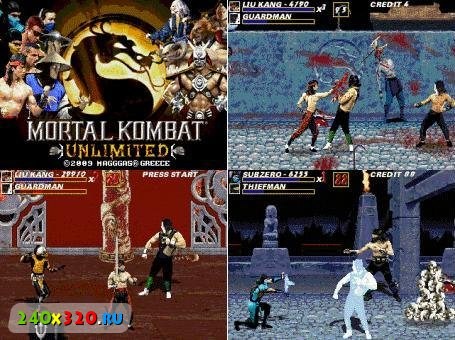 OpenBor + Mortal Kombat Unlimited